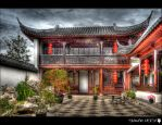 Chinese Garden by shadowfoxcreative
