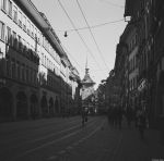 Alpha - Ilford - urban alley by Picture-Bandit