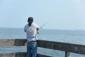 Fishing On the Pier 9 by Miss-Tbones