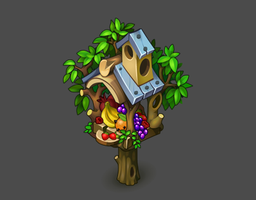 Birdhouse for Oasis: the last hope game by Pykodelbi