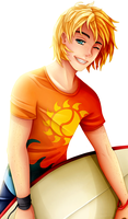:Com: That Surfer's Smile by M-3-1