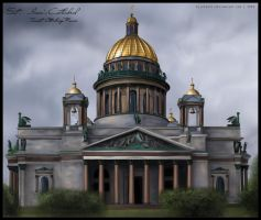 Saint Isaac's Cathedral by ElleChups