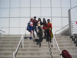 Young Justice at Ax by rawritzrobin