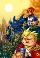 Megas XLR by themico