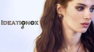 Labyrinth Knocker Earring Display by Ideationox