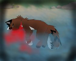 The Death of Hawkfrost by iTrixieKitty