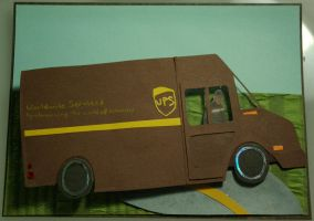 New UPS Driver by Confettibird