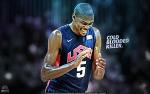 Kevin Durant Cold Blooded Killer Wallpaper by lisong24kobe