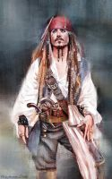 Captain Jack Sparrow by UstyzhaninaART