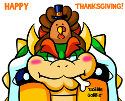 Commission - Turkey Bowser by JamesmanTheRegenold