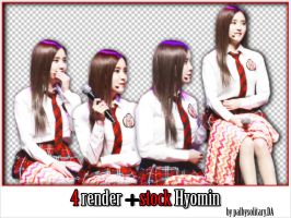 [Renderpack #11]: Hyomin (T-ARA) by PalbySolitary