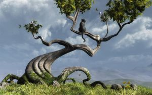 The Sitting Tree by curious3d
