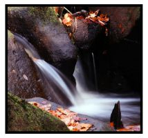 waterfall autumn 2 by mzkate