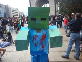 Minecraft Zombie by WBlak
