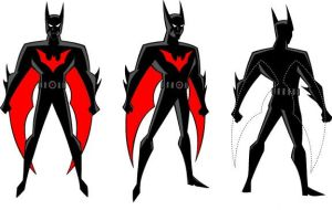 Batman Beyond Model Sheet by Nes44Nes