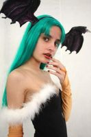 Morrigan Cosplay by TrishFemmeFatale
