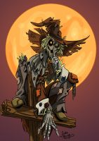 Scarecrow by GravedFish