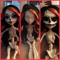 Monster High Doll Repaint by tdphotodesigns