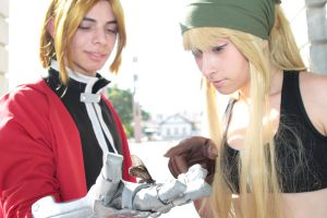 Look, Winry by Dokax