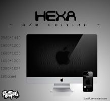 'Hexa' - wallpaperpack bw by 2tobi7
