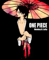 Monkey D. Luffy by Lutzie-flavoured