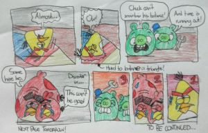 Angry Birds - The Wooden Impossi-Wall Part 2 by AngryBirdsStuff