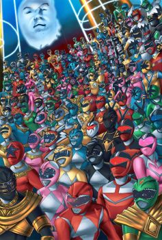 Its MORPHIN TIME!!!!!!!!! large print FanArt by BoredToLife