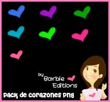 Pack de Corazones png by BarbieEditionsYT