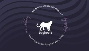 Bagheera Business Card Front by balaa