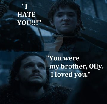 Jon and Olly's Last Exchange (fanmade) by ThomasAnime