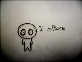 i is alone by DB-Riddle