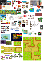 Pixel Dump for 2 years by GroudonMcL