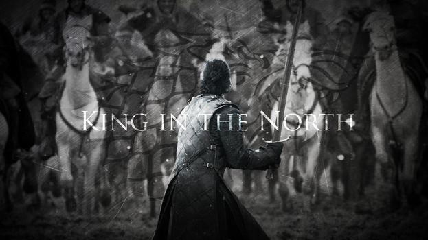 King in the North | Jon Snow | Game of Thrones by TaigaLife