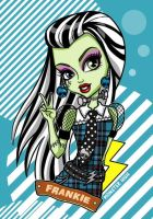 Monster High - Frankie Stein by beniart33