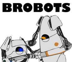 Portal 2 - BROBOTS by Regashii