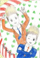 Jedward for Jedhedxx by TurtleFlavour