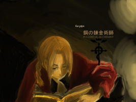 Edward Elric. by ukifune