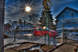 Front Yard by butterphoto