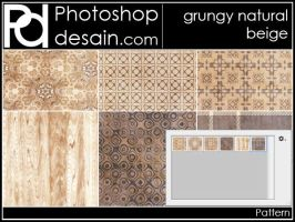 Grungy Natural Beige by psbatopie
