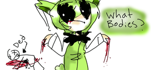 SpringTrap Being Himself by DialMforMagic
