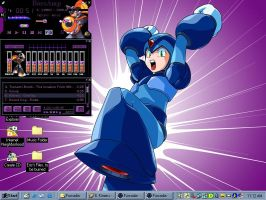 Megaman X Wallpaper by SilverStar2