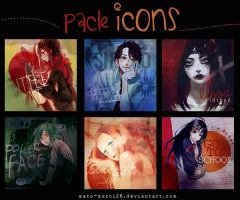 Pack Icons ~ by Mato-Kuroi26