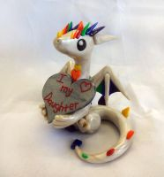 Valentines Dragon by ByToothAndClaw
