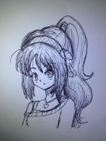 What my art style really looks like sketch  by artycomicfangirl