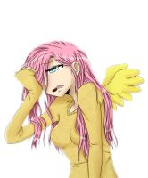 Fluttershy by queuesunglasses