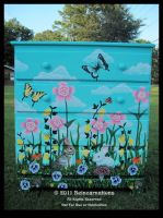 Spring Meadow Dresser - Front by ReincarnationsDotCom