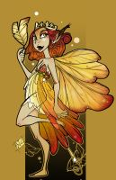 Golden Queen by glassie