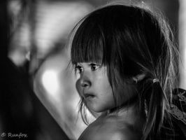 Battambang child by Runfox
