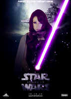 Star Wars Episode VII poster - Mara Jade by Laozor