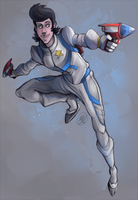Space Dandy by NillaKiwi